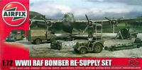 WWII Raf Bomber Re-Supply Set Model Kit escala 1/72 Airfix