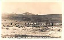 Mt Kinley Park Alaska Savage River Camp Real Photo Antique Postcard K13702