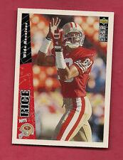 RARE 1996 CC 49ERS JERRY RICE # 801 PROMO  CARD