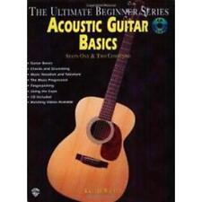 Wb Ml93993 Méthode Pour Guitare Acoustique The Ultimate Débutant Série Gu