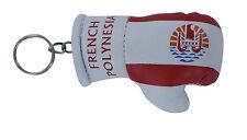 Porte clés Drapeau POLYNESIE TAHITI Mini gant de boxe clé clefs voiture moto