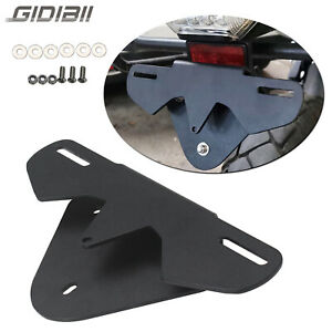 License Plate Holder Bracket Tail Tidy Aluminum For BMW G310GS G310R 2017-2020