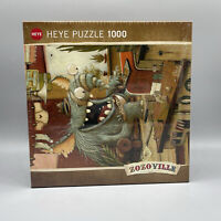 ZOZOville, Laundry Day 1000 Piece Puzzle By Heye