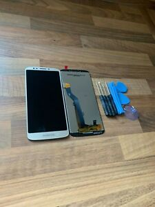 New Motorola Moto G6 Play XT1922-2 Touch Digitizer LCD Screen Assembly Gold UK