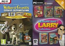 Wallace & Gromit Adventures 1-4 + Leisure Suit Larry Collection 5 jeux