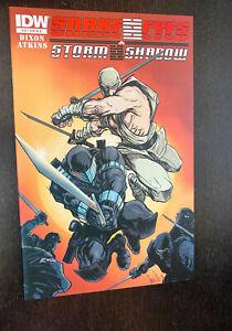 SNAKE EYES / STORM SHADOW #13 (IDW Comics 2012) -- RI Retailer Variant