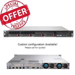 HP ProLiant DL360 G7 2 x E5620 2.40GHz 4 core CPU 24GB RAM P410i 2 x 146GB HDD