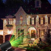 Christmas Star Laser Projector Shower Light LED MOTION Outdoor Landscape Lamp US