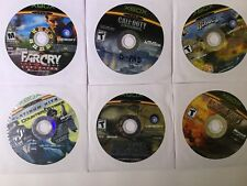 Lot Of 6 Xbox Live Far Cry~Call Of Duty~Hero?s Of Pacific~Counter Strike & More