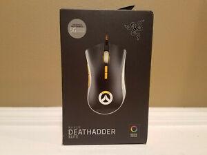 Razer DeathAdder Elite 5G Optical Sensor Gaming Mouse Overwatch Edition * NEW