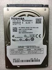 """Toshiba 250GB,Internal,7200 RPM,6.35 cm (2.5"""") (MK2556GSY) Desktop HDD"""