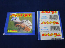 Panini EM EC 1992 Euro 92, packet/Tüte/bustina, VGC, rare, unopened/ungeöffnet!
