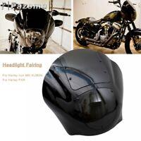 For 95-05 Harley Dyna Chopper Custom Front Quarter Fairing Headlight Cover Kit