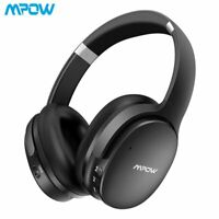 Mpow H10 H5 Noise Cancelling Wireless Bluetooth Headphones Headset ANC Dual-Mic