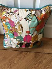 "MANUEL CANOVAS DARA PIPED CUSHION  14""x14"""
