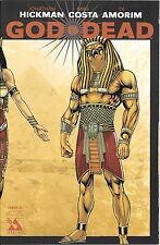 God Is Dead # 2 Egyptian Pantheon Wrap Around Cover ! Avatar ! Nm !