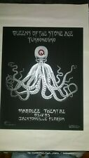 Emek Queens of the Stone Age Poster Turbonegro Jacksonville Marquee 2003 QOTSA