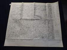 Landkarte Einheitsblatt Nr.81 Kalisch / Kalisz, Jarotschin, Konin, Polen, 1937