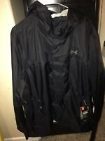 NEW Under Armour Storm3 Men's Waterproof Windproof Hooded Jacket Mens M With Tag