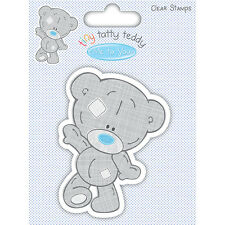 Caractère Walking-Tiny Tatty Teddy Boy-Me to You-clear stamp