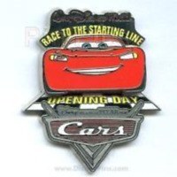 Disney Pin 46890 WDW Cast Member Exclusive Pixar Cars Opening Day LE 2000 *