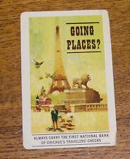 1963 Advertising Calendar Card - Fulton National Bank - Akron PA