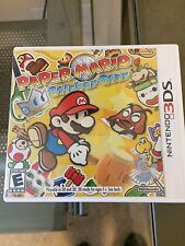 Paper Mario: Sticker Star (Nintendo 3DS, 2012)
