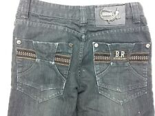 XKNE Jeans Cool Man of Blood SIZE 28 (SIZE 6 us) B.R. FASHION REPORT 5 POCKET