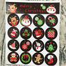 160pcs Stickers Merry Christmas Badge Sticker Envelope Seal Wrapping Stickers