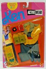 NRFP NEW SEALED VINTAGE KEN (BARBIE) #2437 'ON THE MOVE' ACTIVEWEAR MATTEL 1989