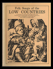 Folk Songs of the LOW COUNTRIES (Paperback) SOLO GUITAR by Michael Raven