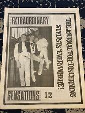 More details for extraordinary sensations - number 12 - rare modzine - excellent condition