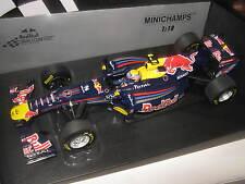 1:18 Red Bull Renault showcar 2011 M. Webber 110110072 Minichamps OVP NEW