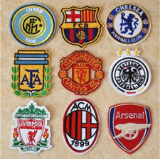 Patch Toppa Brand Logo Squadre di Calcio Football Team Ricamata Termoadesiva