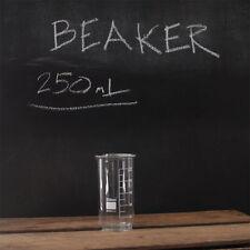 Beaker 250ml, tall form, borosilicate