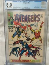 Avengers #58 CGC 8.0 Origin Of Vision & 2nd Appearance