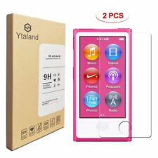 Ytaland 2Pcs 9H+ Tempered Glass Screen Protector Film For Apple iPod Nano 7 7th