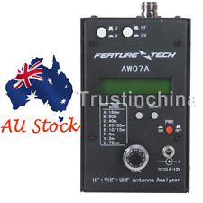 AW07A HF/VHF/UHF 160M Impedance SWR Antenna Analyzer f Ham Radio Hobbist DIY