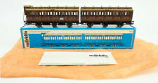 MARKLIN HO SCALE 4208 KPEV 3RD CLASS PRUSSIAN DOUBLE COMPARTMENT CAR