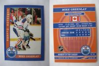 2015 SCA Mike Greenlay Edmonton Oilers goalie never issued produced #d/10