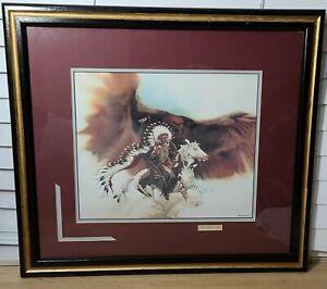Bev Doolittle - Rushing War Eagle - Matted & Framed Art Print