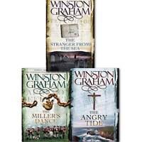 Winston Graham Poldark Series Trilogy Books 7, 8, 9, Collection 3 Books Set