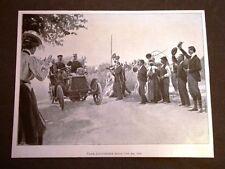 Milano nel 1901 La visita dei Sovrani Passa l'automobile reale
