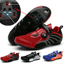 Mens Road Cycling Shoes Self-Locking Mountain Bicycle Sneakers Racing Bike Shoes