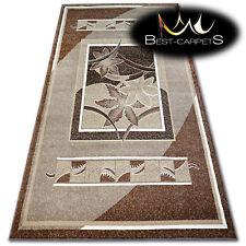 "MODERN DESIGNS & CHEAP BCF RUGS beige FLORAL ""BASE"" LARGE SIZE Best-Carpets"