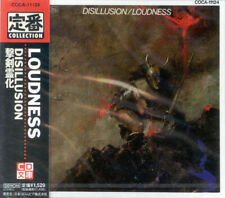 """CD LOUDNESS """"DISILLUSION"""" (COCA-11124) JAPON 1993,9 TITRES, NEUF"""