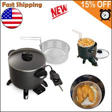 Electric Deep Fryer Home Restaurant Kitchen Multi Cooker Countertop Tabletop New