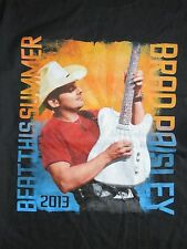 "2013 Brad Paisley ""Beat This Summer"" Concert Tour (Lg) T-Shirt"