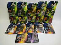 17 Star Wars The Power of the Force Original Boxes Green/Red/Purple Kenner Lot