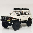 RC 1/16 Truck TOYOTA Land Cruiser 80 LX450 BODY SHELL Hard Body *KIT* -WHITE-